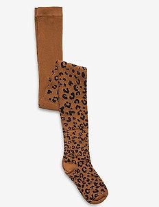 G LEOPARD TGT - rajstopy - leopard print