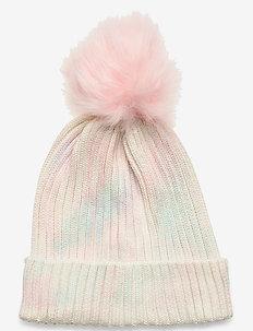Kids Tie-Dye Pom Hat - hats - multi