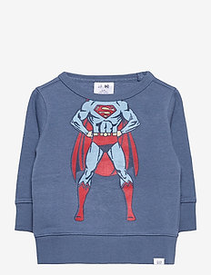 babyGap | DC™ Graphic Crewneck Sweatshirt - bluzy - bainbridge blue