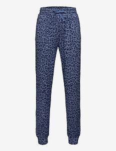 Kids Softspun Pull-On Joggers - spodnie dresowe - hthr leopard blue