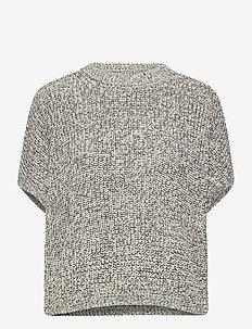 Dolman Sleeve Boatneck Sweater - knitted tops & t-shirts - salt n pepa