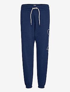 Gap Logo Heavyweight Easy Joggers - sweatpants - elysian blue