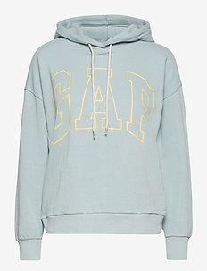 Gap Logo Easy Hoodie - hoodies - blue fair