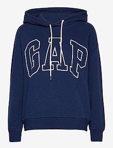 Gap Logo Easy Hoodie - hoodies - elysian blue
