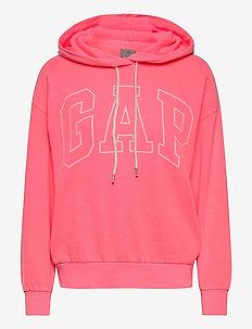 Gap Logo Easy Hoodie - hoodies - sassy pink