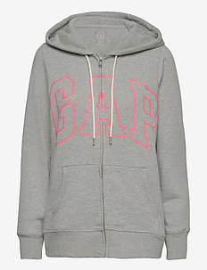 Gap Logo Easy Hoodie - hoodies - b10 grey heather