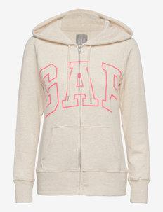 Gap Logo Easy Hoodie - hoodies - oatmeal heather
