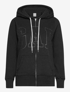 Gap Logo Easy Hoodie - hoodies - true black