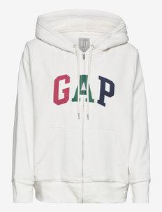 Gap Logo Sherpa Hoodie - hoodies - carls stone