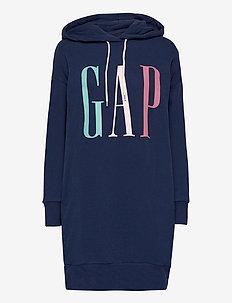 GAP LS HD DRESS - midiklänningar - elysian blue