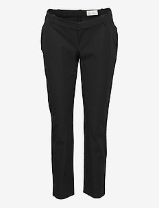 Maternity Inset Panel Slim Ankle Pants - slim fit bukser - true black v2