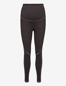 Maternity 7/8 Leggings in Sculpt Compression - leggings - soft black