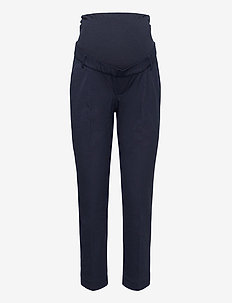 Maternity True Waistband Full Panel Slim Ankle Pants - slim fit bukser - true navy v2