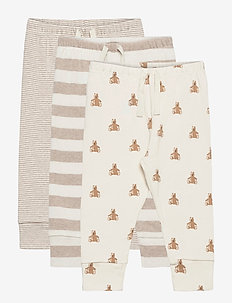 Baby Pull-On Pants (3-Pack) - trousers - camel heather b2297