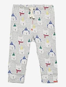 Baby Mix and Match Print Pull-On Pants - pantalons - light heather grey b08
