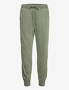 Soft Woven Joggers - casual trousers - greenway