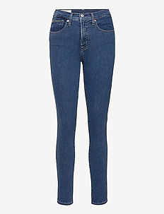 High Rise True Skinny Jeans with Secret Smoothing Pockets - skinny jeans - medium indigo 8