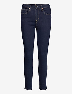 High Rise True Skinny Jeans with Secret Smoothing Pockets - skinny jeans - rinsed