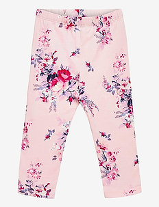 Baby Mix and Match Print Leggings - leggings - pink cameo