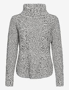 Cable Knit Turtleneck Sweater - rolkraagtruien - salt n pepa