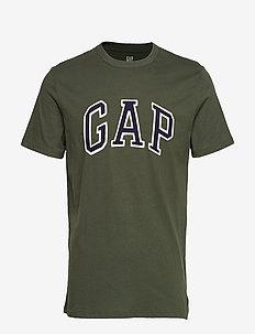 Logo Crewneck T-Shirt - logo t-shirts - climbing ivy 19-0307t