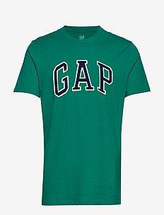 Logo Crewneck T-Shirt - JADE FOUNTAIN