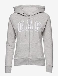 SH GAP CLSC FZ HD - LIGHT HEATHER GREY B10