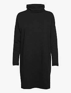 Cowlneck Dress - vapaa-ajan mekot - true black v2