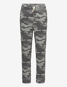SWTR FLC PANT - joggings - grey camo