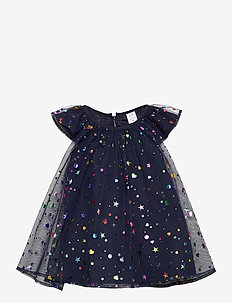 Toddler Tulle Dress - kleider - navy uniform v2