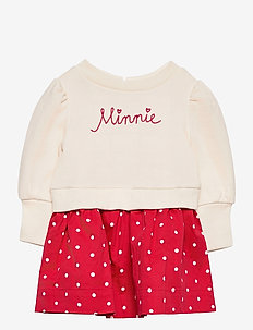 babyGap | Disney Minnie Mouse Mix-Media Dress - kleider - minnie mouse