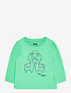 Toddler Mix and Match Graphic T-Shirt - langärmelige - unicorns 647