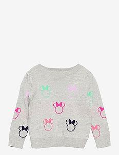 babyGap | Disney Minnie Mouse Crewneck Sweater - gebreid - minnie mouse