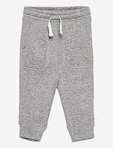 Toddler Sweater Fleece Pull-On Pants - joggings - light grey