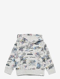 babyGap | DC™ Superman Hoodie - hoodies - light heather grey b08