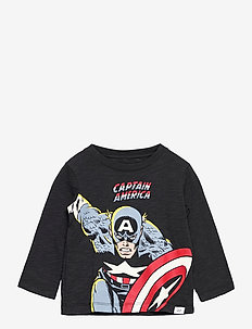 babyGap   Marvel Graphic T-Shirt - langärmelige - moonless night
