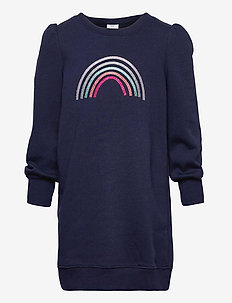 Kids Sweatshirt Dress - kleider - navy uniform