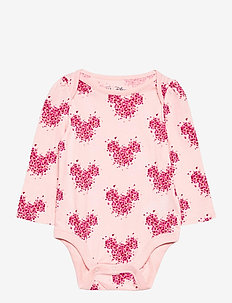 babyGap | Disney Mickey Mouse Bodysuit - långärmat - pink cameo
