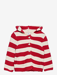 Baby Stripe Sweater - gebreide vesten - pure red stripe