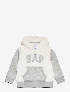 Baby Cozy Gap Logo Hoodie - hoodies - ivory frost