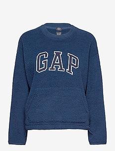 GAP SHERPA PO CR - sweatshirts - night