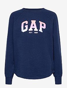 GAP SHINE TUNIC - sweatshirts - elysian blue