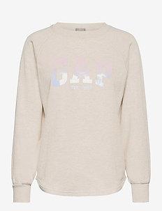 GAP SHINE TUNIC - sweatshirts - oatmeal heather