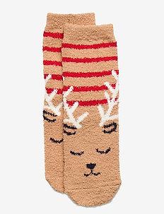 Kids Cozy Fuzzy Socks - strumpor - deerfield