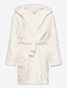 Kids Unicorn Robe - bathrobes - ivory frost