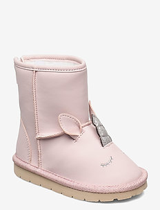 Toddler Unicorn 3D Boots - winter boots - misty rose