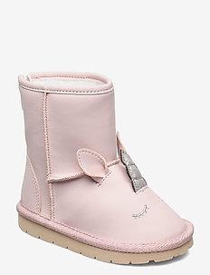 Toddler Unicorn 3D Boots - vinterstövlar - misty rose