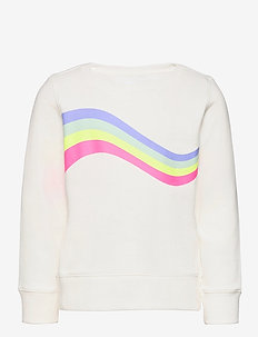 Kids Recycled Graphic Crewneck Sweatshirt - sweatshirts - new off white