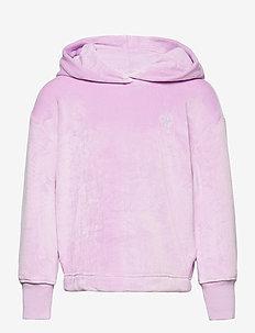 Kids Plush Hoodie - huvtröjor - gauzy lilac