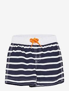 Toddler Stripe Swim Trunks - badehosen - breton stripe blue